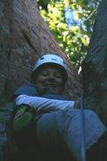 Rock Climbing Photo: Beginner's Chimney