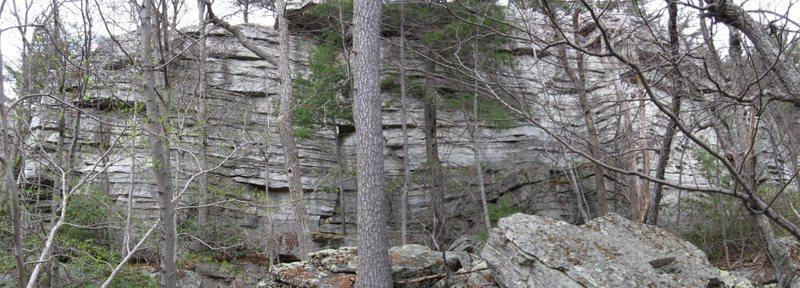 Rock Climbing Photo: Playground area, Dickie Barre