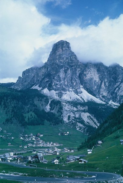 Another Dolomite village and Peak.