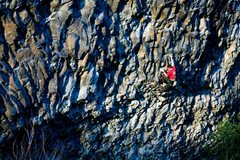 Rock Climbing Photo: crux of In Between Days
