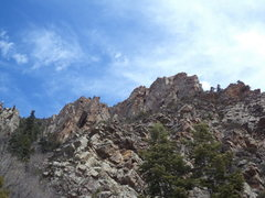 Rock Climbing Photo: the buttress from the approach