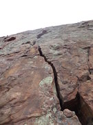 Rock Climbing Photo: Good looking crack