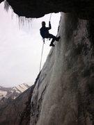 Rock Climbing Photo: Rapping pitch 3.