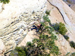 Rock Climbing Photo: The Point 5.11 Just SW of the Attitude Wall FA J C...