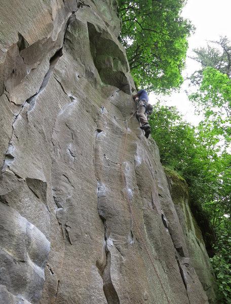 Rock Climbing Photo: Short Fuse