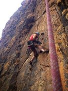 Rock Climbing Photo: Bolting in Ethiopia.