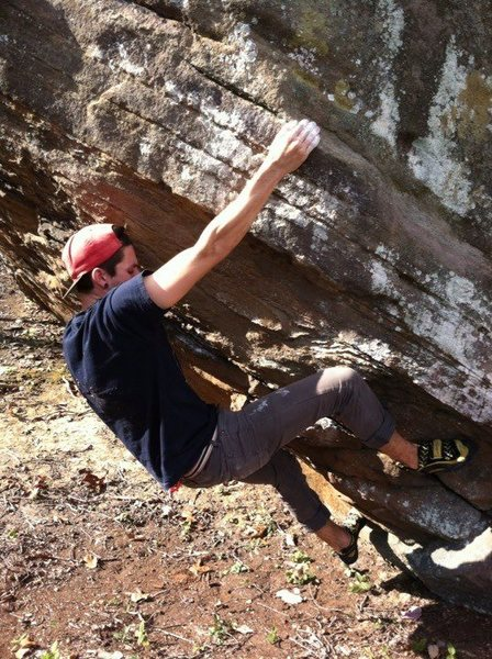 Bouldering southern Ohio