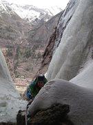 Rock Climbing Photo: The bear's den belay.