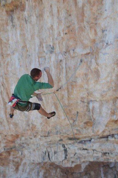 Rock Climbing Photo: whipping