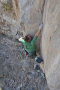 Rock Climbing Photo: Pressing it out