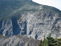 Rock Climbing Photo: Muir Route is the orange line and Quick Silver is ...
