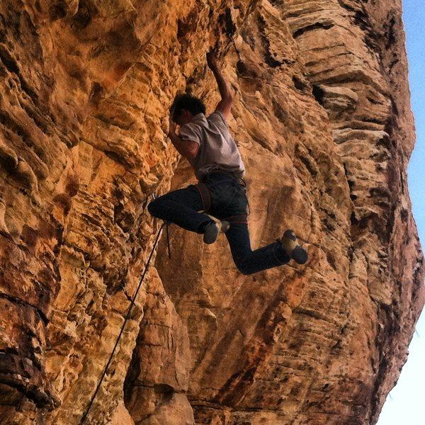 Rock Climbing Photo: Red rocks!!