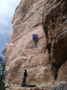 Rock Climbing Photo: Nice route
