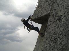 Rock Climbing Photo: Under Over Easy