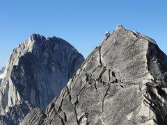 Rock Climbing Photo: Katz guns for the summit!
