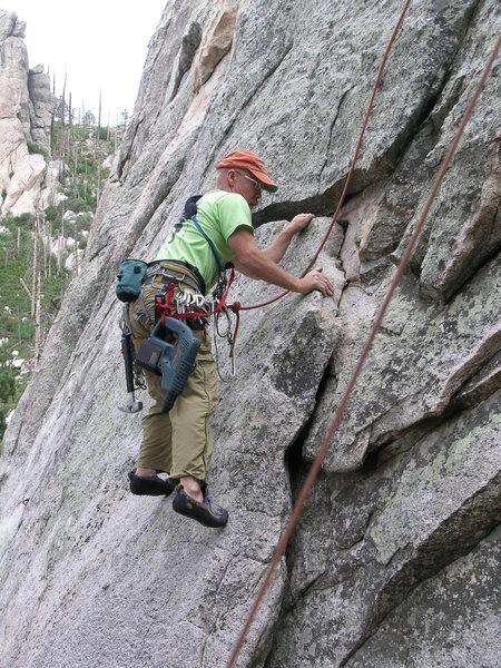 Climb on Mt. Lemmon July 2012