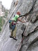 Rock Climbing Photo: Climb on Mt. Lemmon July 2012
