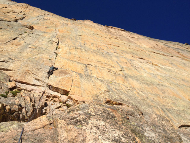 Rock Climbing Photo: Starting D7