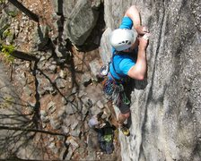 Rock Climbing Photo: hands are still a bit thin after the crux