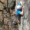 hands are still a bit thin after the crux