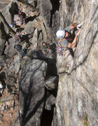 Rock Climbing Photo: stay cool and place gear regularly early on