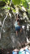 "Rock Climbing Photo: Same problem as the ""featured picture"" -..."