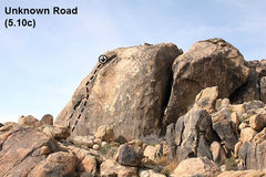 Rock Climbing Photo: Unknown Road (5.10c), The Cemetery