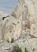 Rock Climbing Photo: Unknown climbers on Scream Cheese.