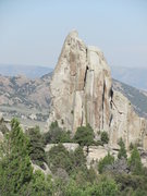 Rock Climbing Photo: Morning Glory Spire.