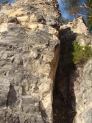 Rock Climbing Photo: A route for lovers and soon to be lovers.