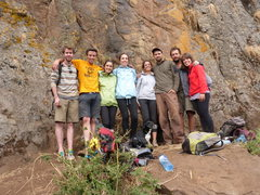 Rock Climbing Photo: Part of the test crew!