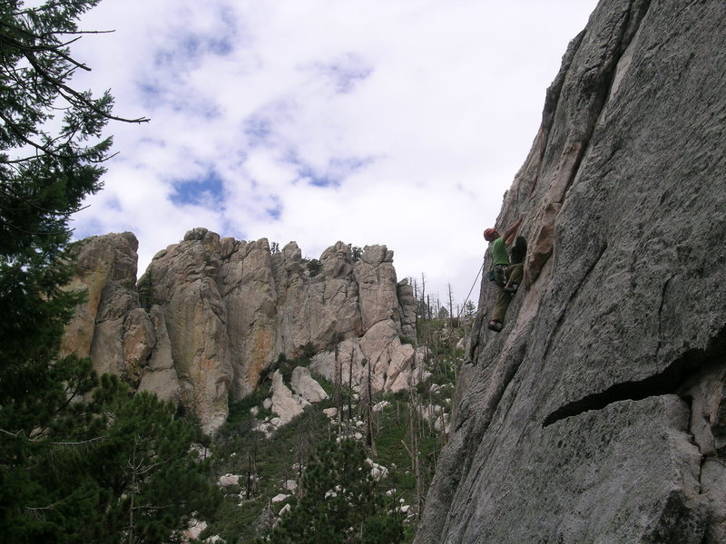 Rock Climbing Photo: Mt. Lemmon July 2012