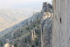 Rock Climbing Photo: Developer and first-ascensionist Jonathan Siegrist...