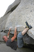 Rock Climbing Photo: After a rough week on the island, Jed Gingher fina...