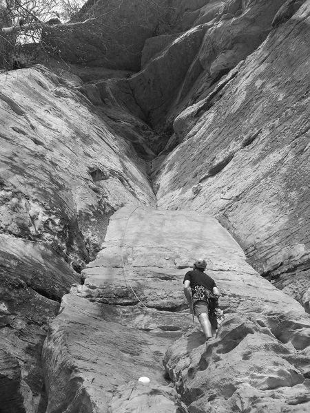 Rock Climbing Photo: Attack of the Sandshark, Phantasia Wall, KY