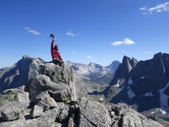 Rock Climbing Photo: Wind River Range