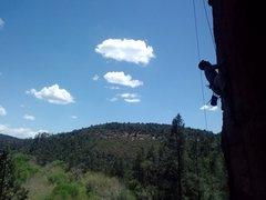 Rock Climbing Photo: Matt on Slash Face's Apache Prize Fighter