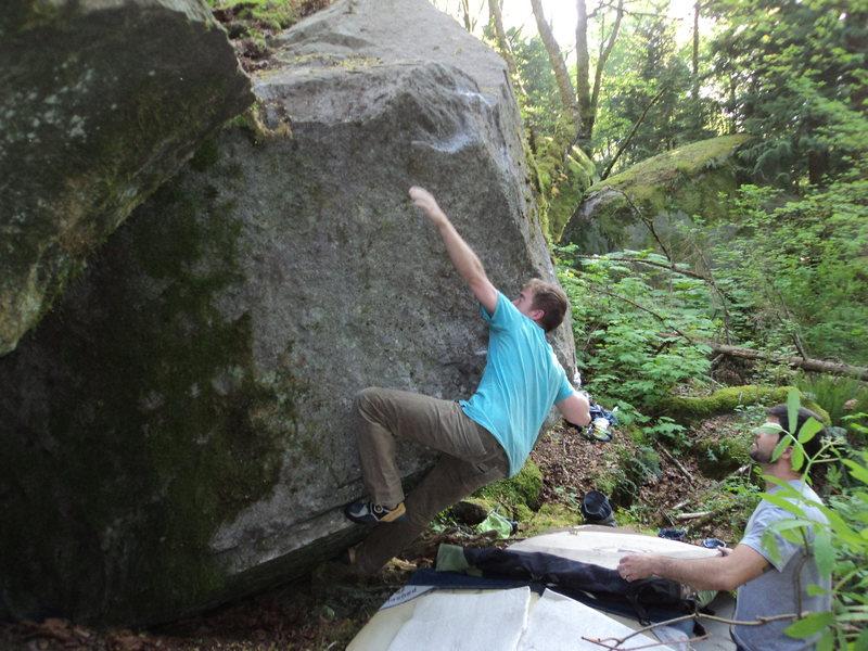 Rock Climbing Photo: Kale