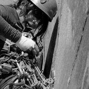"Rock Climbing Photo: Leading ""30 Seconds Over Potash"", Wall S..."
