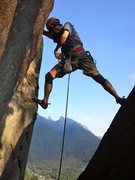 Rock Climbing Photo: The start of He is Truly a Great Airplane (HITAGA)...