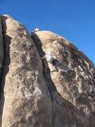 """Rock Climbing Photo: """"Zip,"""" zipping up SOB."""