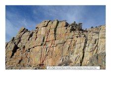 Rock Climbing Photo: The routes.