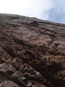Rock Climbing Photo: Eva climbing Bumblies For Breakfast.