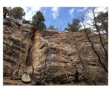 Rock Climbing Photo: Power wall Thought this area need more pics.   Far...