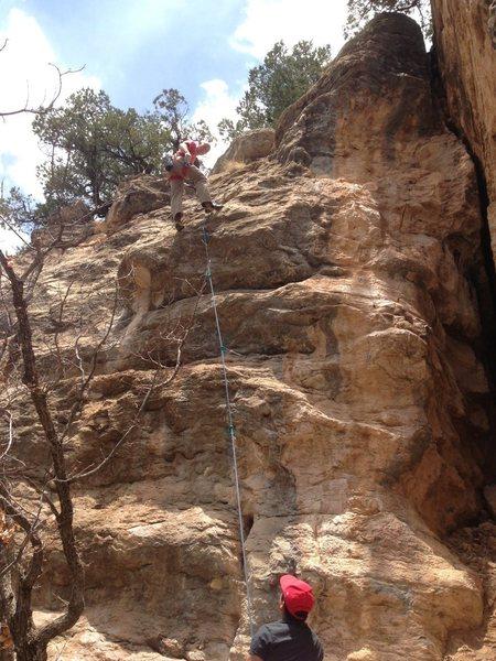 Rock Climbing Photo: Fun short climb