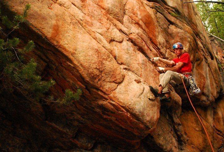 Rock Climbing Photo: Boulder start