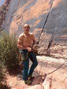 Rock Climbing Photo: me.....
