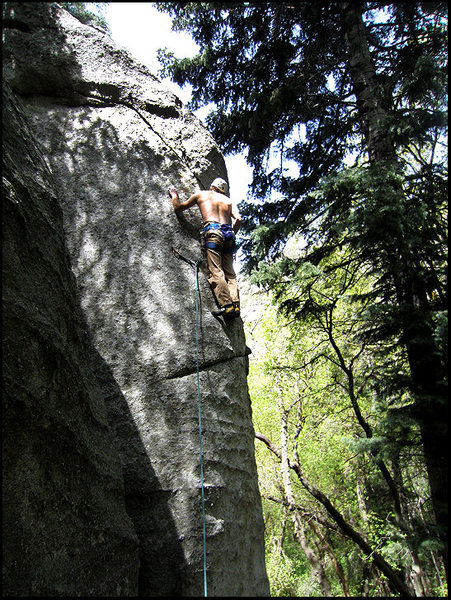 Rock Climbing Photo: Goldbagger
