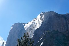 Rock Climbing Photo: water pouring down near the East Buttress and Tang...