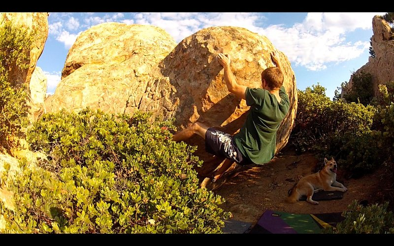 Rock Climbing Photo: Overtaker while Kingston watches